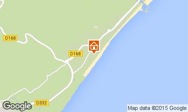 Mapa Narbonne praia Vivenda 93844