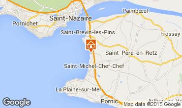 Mapa Saint Brevin les Pins Mobil Home 101707