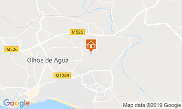 Mapa Albufeira Apartamentos 119362