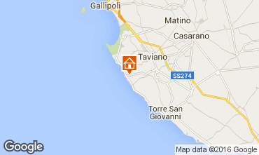 Mapa Gallipoli Casa troglodita 78245