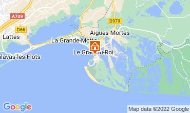 Mapa Le Grau du Roi Apartamentos 114395