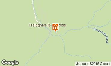 Mapa Pralognan la Vanoise Apartamentos 25582
