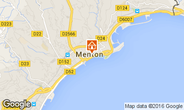 Mapa Menton Apartamentos 35730
