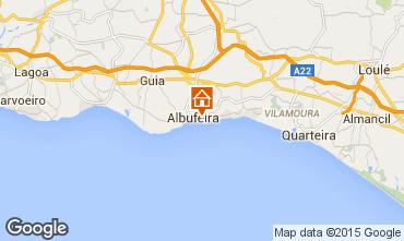 Mapa Albufeira Apartamentos 32301