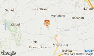 Mapa Macerata Casa de turismo rural/Casa de campo 17670