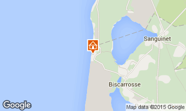 Mapa Biscarrosse Casa 6543