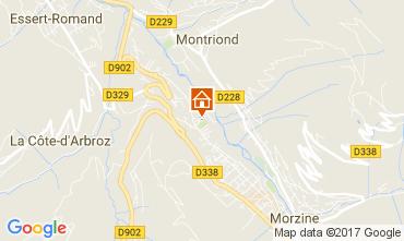 Mapa Saint Jean d'Aulps- La Grande Terche Chal� 69537