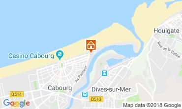 Mapa Cabourg Apartamentos 109681