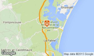 Mapa Sigean Mobil Home 90647