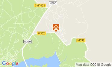 Mapa Vila Nova de Milfontes Casa 114830