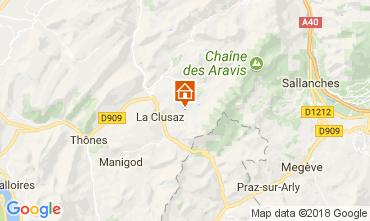 Mapa La Clusaz Apartamentos 73326