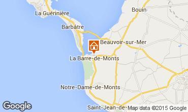 Mapa Saint Jean de Monts Casa 31169