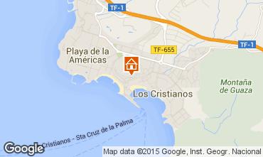 Mapa Los Cristianos Apartamentos 99539