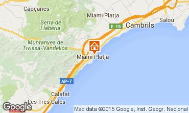 Mapa Miami Playa Apartamentos 34588