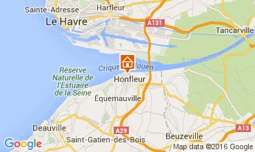 Mapa Honfleur Apartamentos 106122