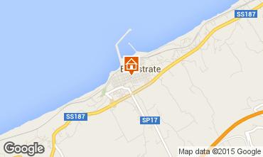 Mapa Balestrate Apartamentos 85788