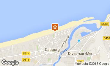 Mapa Cabourg Apartamentos 98323