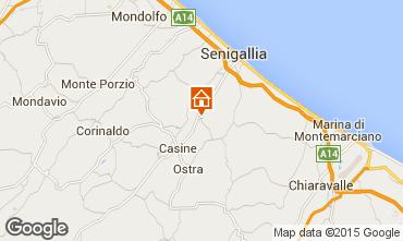 Mapa Senigallia Apartamentos 87655