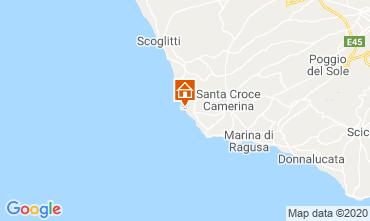 Mapa Marina di Ragusa Apartamentos 48123