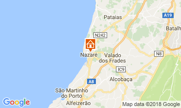 Mapa Nazaré Apartamentos 114969