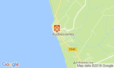 Mapa Wissant Casa de turismo rural/Casa de campo 115878