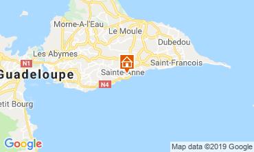 Mapa Sainte Anne (Guadalupe) Bungalow 118496