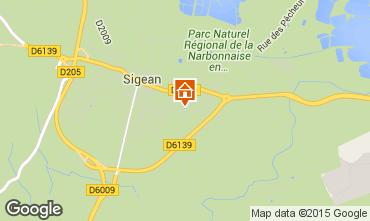 Mapa Sigean Vivenda 29394