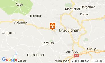 Mapa Draguignan Quarto de hóspedes 111255