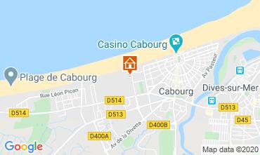 Mapa Cabourg Apartamentos 84925