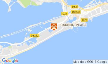 Mapa Palavas-les-Flots Vivenda 110505