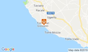 Mapa Ugento - Torre San Giovanni Apartamentos 108700