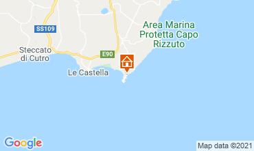 Mapa Isola di Capo Rizzuto Apartamentos 89444