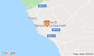 Mapa Marina di Mancaversa Apartamentos 113647