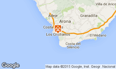 Mapa Los Cristianos Est�dio 95616