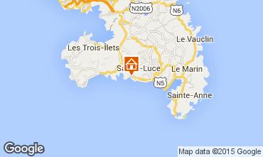 Mapa Sainte Luce Apartamentos 15113