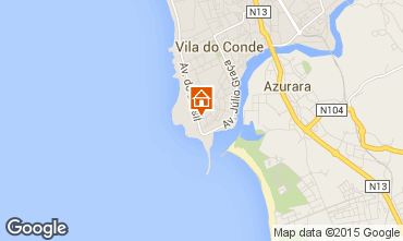 Mapa Vila do Conde Apartamentos 75569