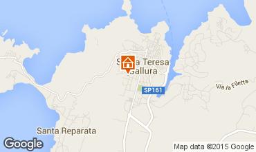 Mapa Santa Teresa di Gallura Casa 71328