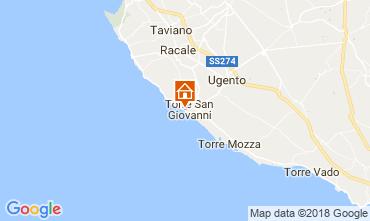 Mapa Ugento - Torre San Giovanni Apartamentos 94486