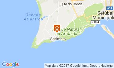Mapa Sesimbra Apartamentos 112749