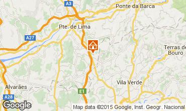 Mapa Ponte de Lima Casa 70923
