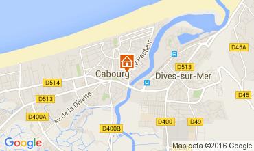 Mapa Cabourg Casa 54311