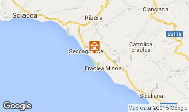 Mapa Ribera Apartamentos 22786