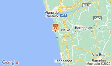 Mapa Viana do Castelo Casa 109480