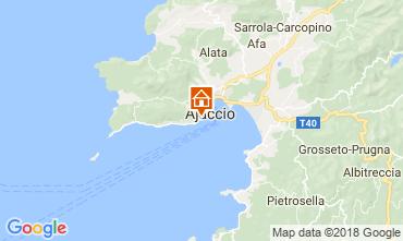 Mapa Ajaccio Apartamentos 115712