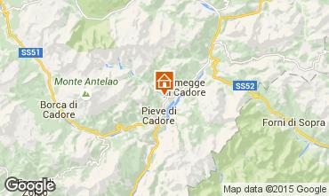Mapa Cortina d'Ampezzo Apartamentos 40563