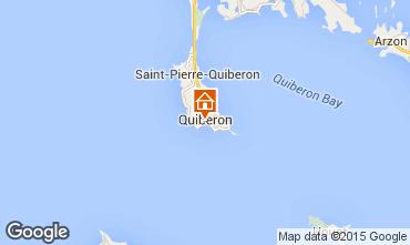 Mapa Quiberon Apartamentos 81600
