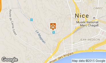 Mapa Nice Apartamentos 78856