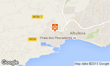 Mapa Albufeira Est�dio 68837