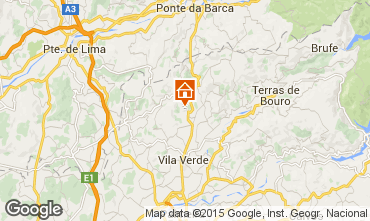 Mapa Braga Casa 58447