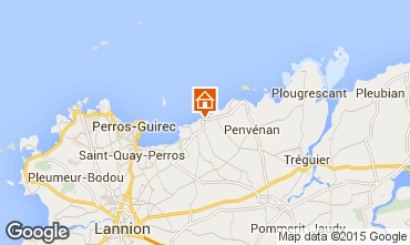 Mapa Perros-Guirec Apartamentos 94927